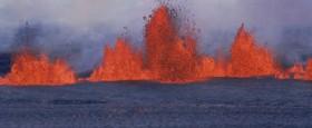 Ný rannsókn staðfestir að losun manna á CO2 er margfalt meira en losnar vegna eldvirkni..