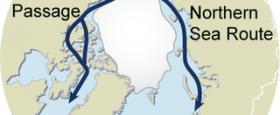 Frétt af siglingu um bæði Norðaustur- og Norðvesturleiðina á sama sumri. Í fyrsta sinn tókst að fara þessa leið á einu og sama sumri..