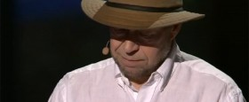 James Hansen útskýrir afhverju hann segist verða að grípa til aðgerða gegn hnattrænni hlýnun í TED fyrirlestri