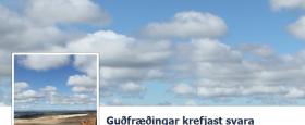 Loftslagsbreytingar af mannavöldum virðast geta orðið að kosningamáli í kosningunum þann 27. apríl