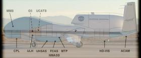 Ný sjálfstýrð flugvél vísindamanna hjá NASA og NOAA
