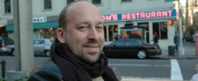 Stutt viðtal við loftslagsvísindamanninn Gavin Schmidt hjá NASA GISS..
