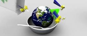 NASA vaktar fæðuöryggi með gervihnöttum..